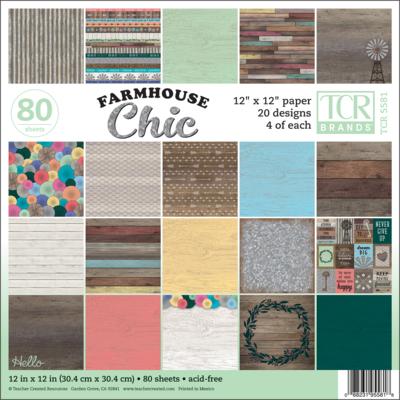Farmhouse Chic 12x12 Paper
