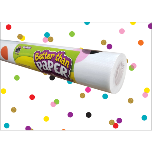 Confetti Better Than Paper Bulletin Board Roll