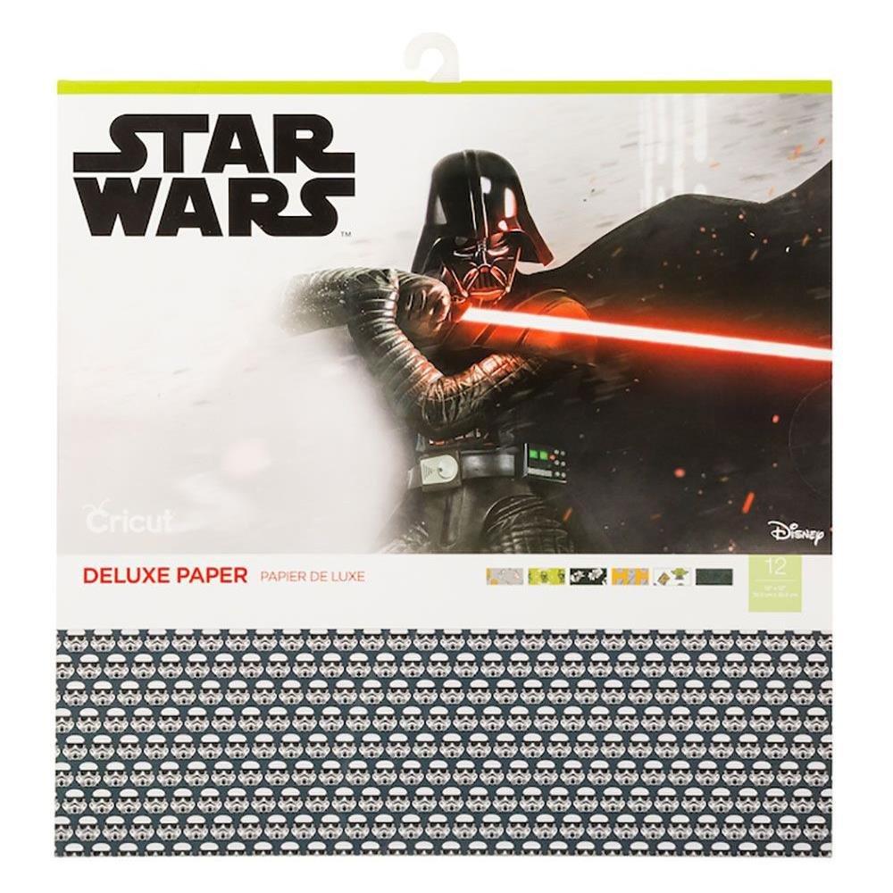 Cricut 12X12 Deluxe Paper 12/Pkg-Star Wars It's Your Destiny