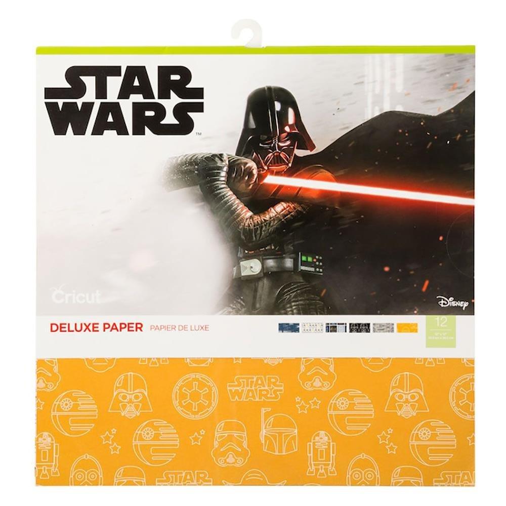 Cricut 12X12 Deluxe Paper 12/Pkg-Star Wars A New Hope