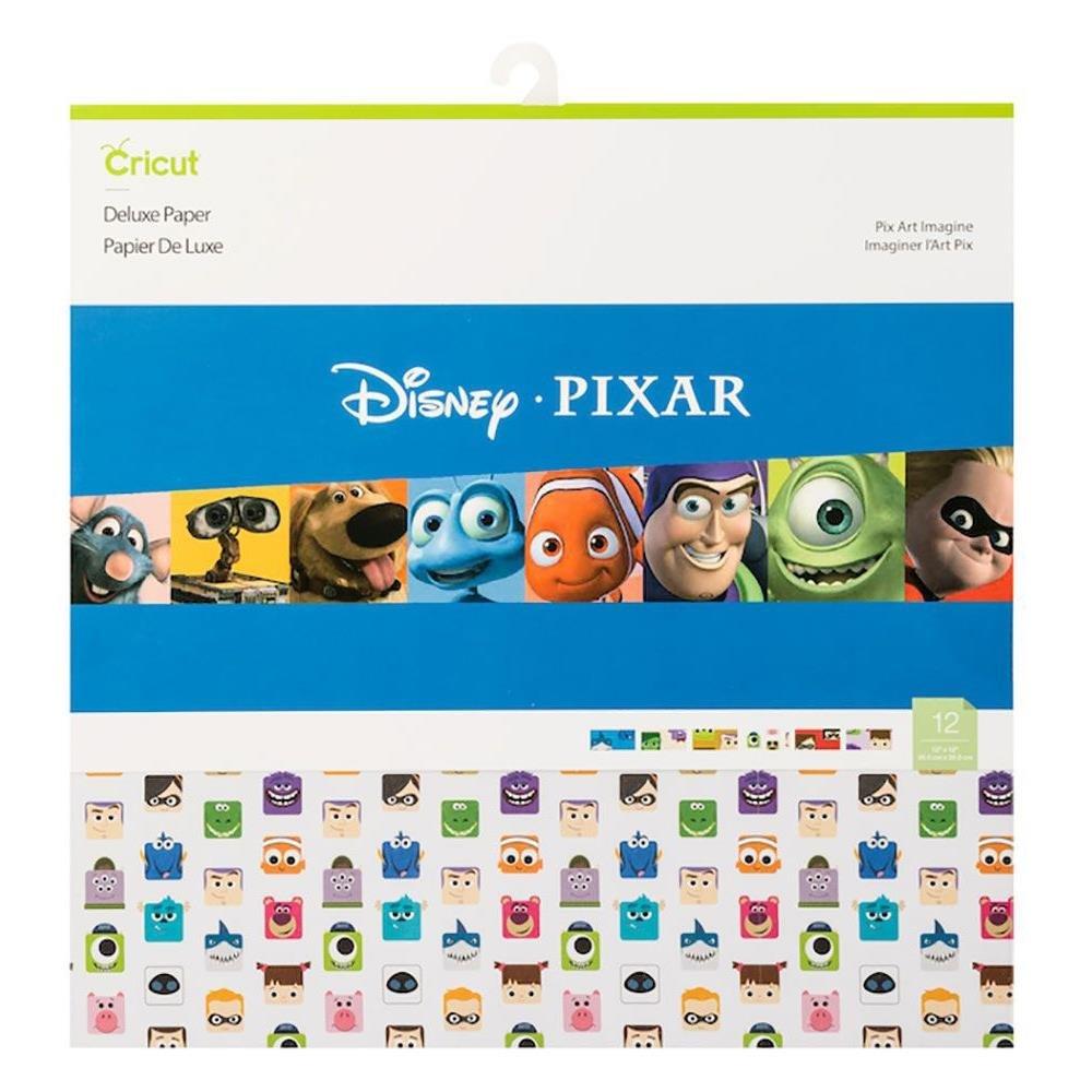 Cricut 12X12 Deluxe Paper 12/Pkg-Pixar Art Imagine