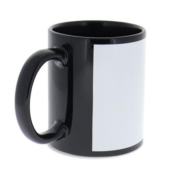 Personalized Black Coffee Mug, 11 oz.