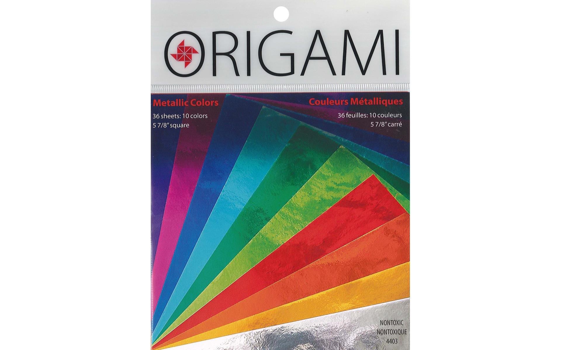 Y&C Origami Paper 5.88 Metallic Colors 36 pc