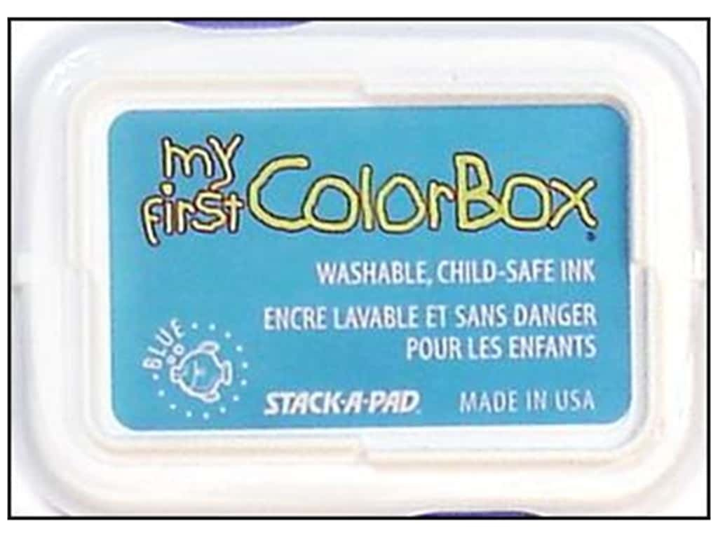 ColorBox My First Pigment Ink Pad Blue