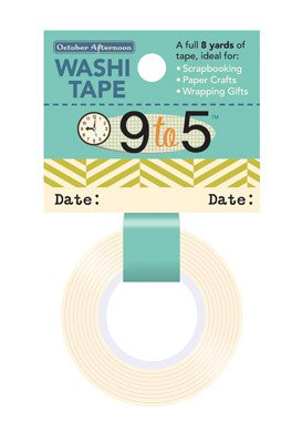 DATE      -9 TO 5 WASHI TAPE