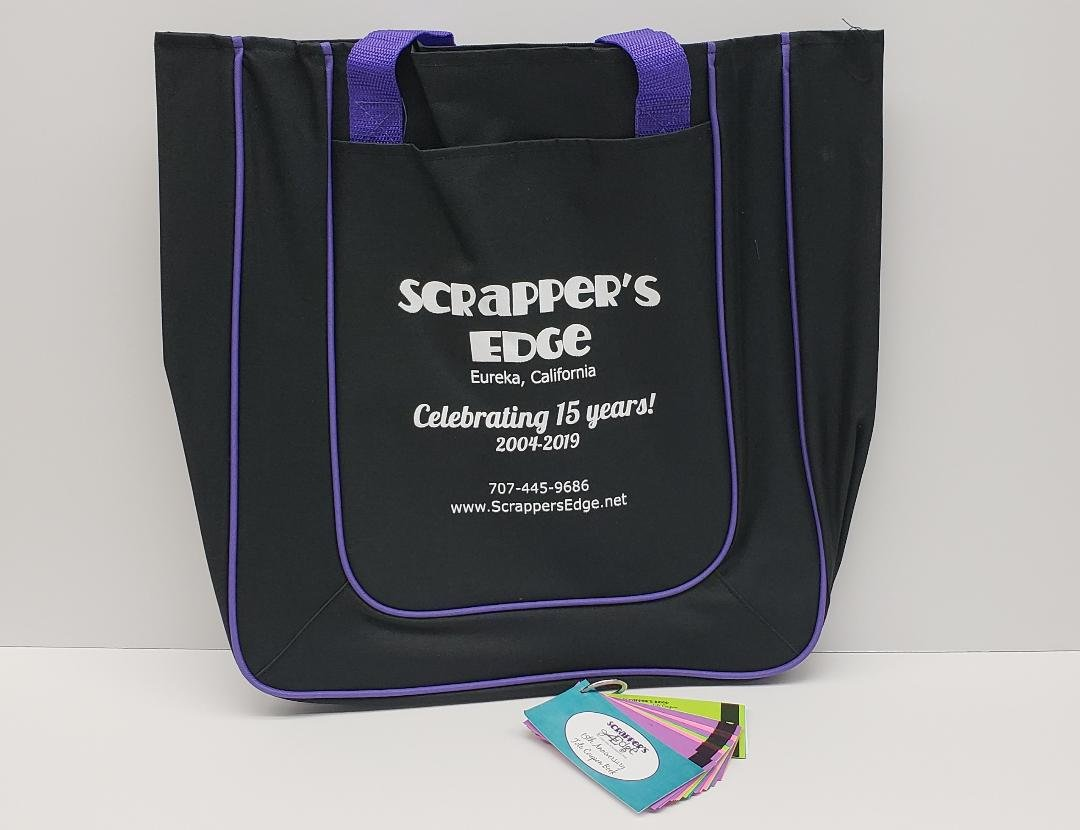 15th ANNIVERSARY TOTE - LIMITED EDITION w/Coupon Book for In-Store Purchases
