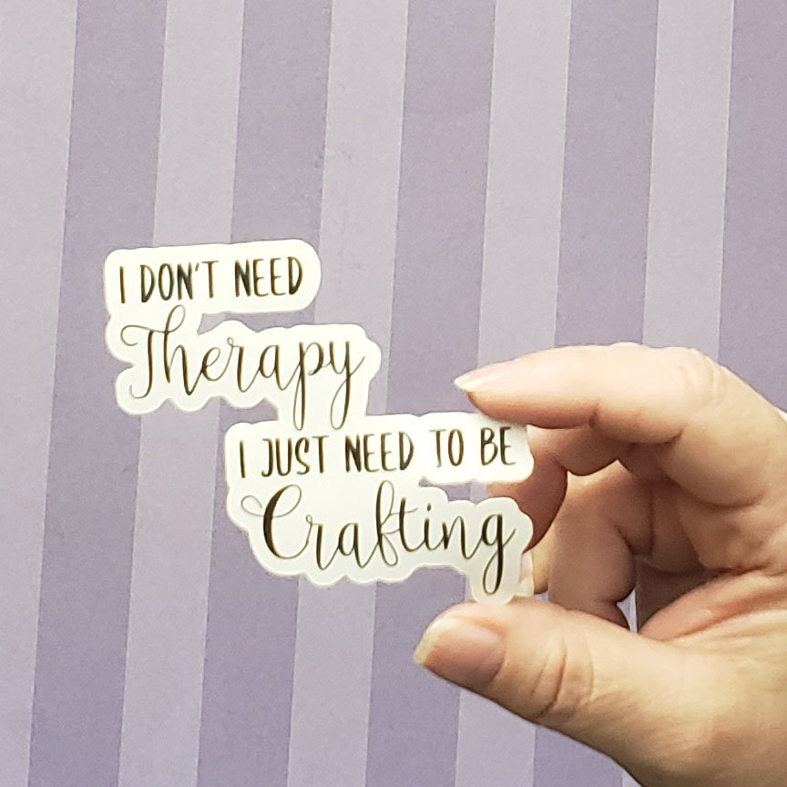 Decal - THERAPY