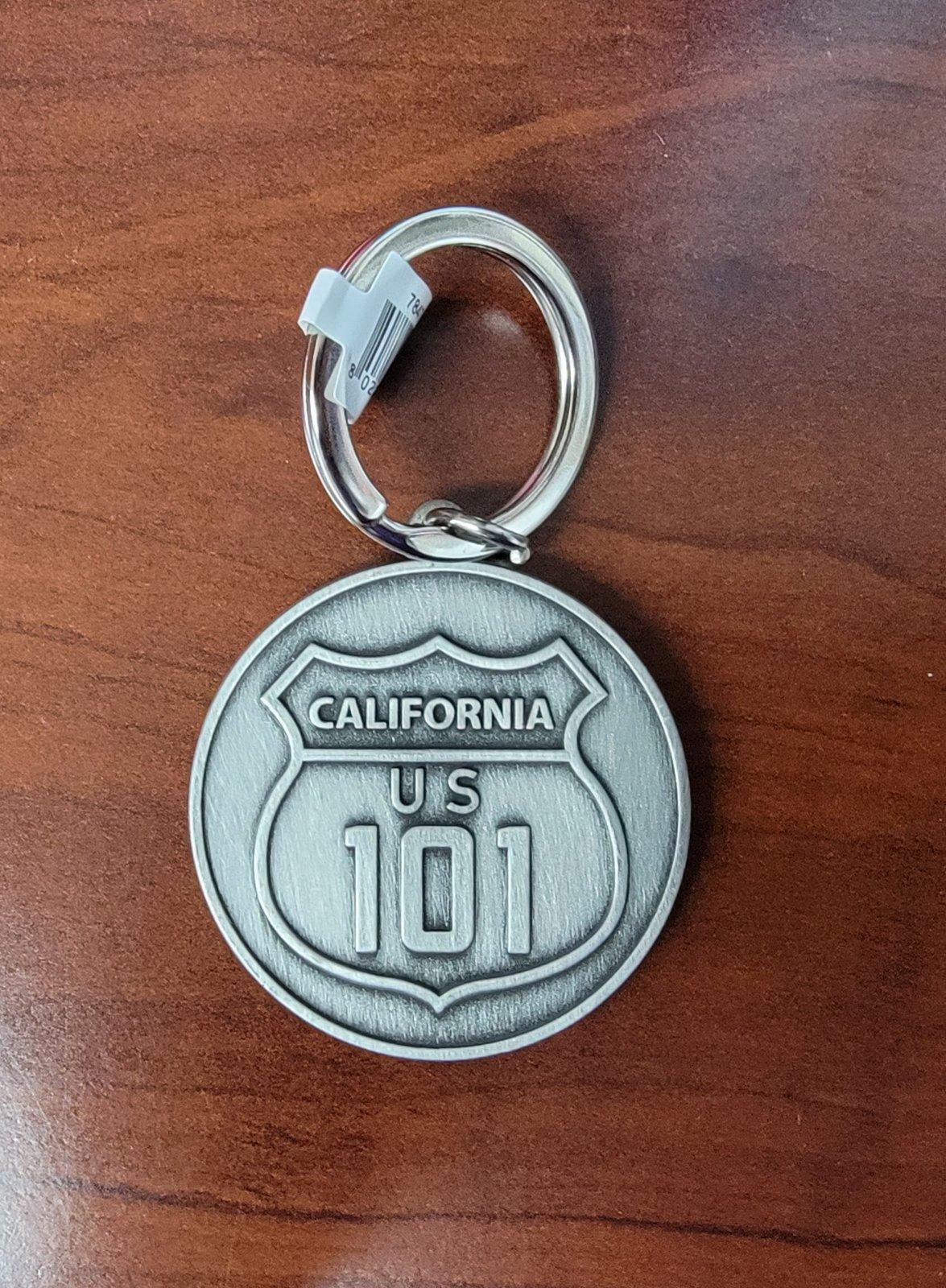 Keychain, California US Hwy 101