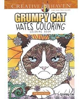 Creative Haven Grumpy Cat Hates Coloring Book
