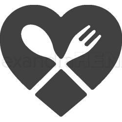 Alexandra Renke Dies Cutlery Heart (Metal Die)