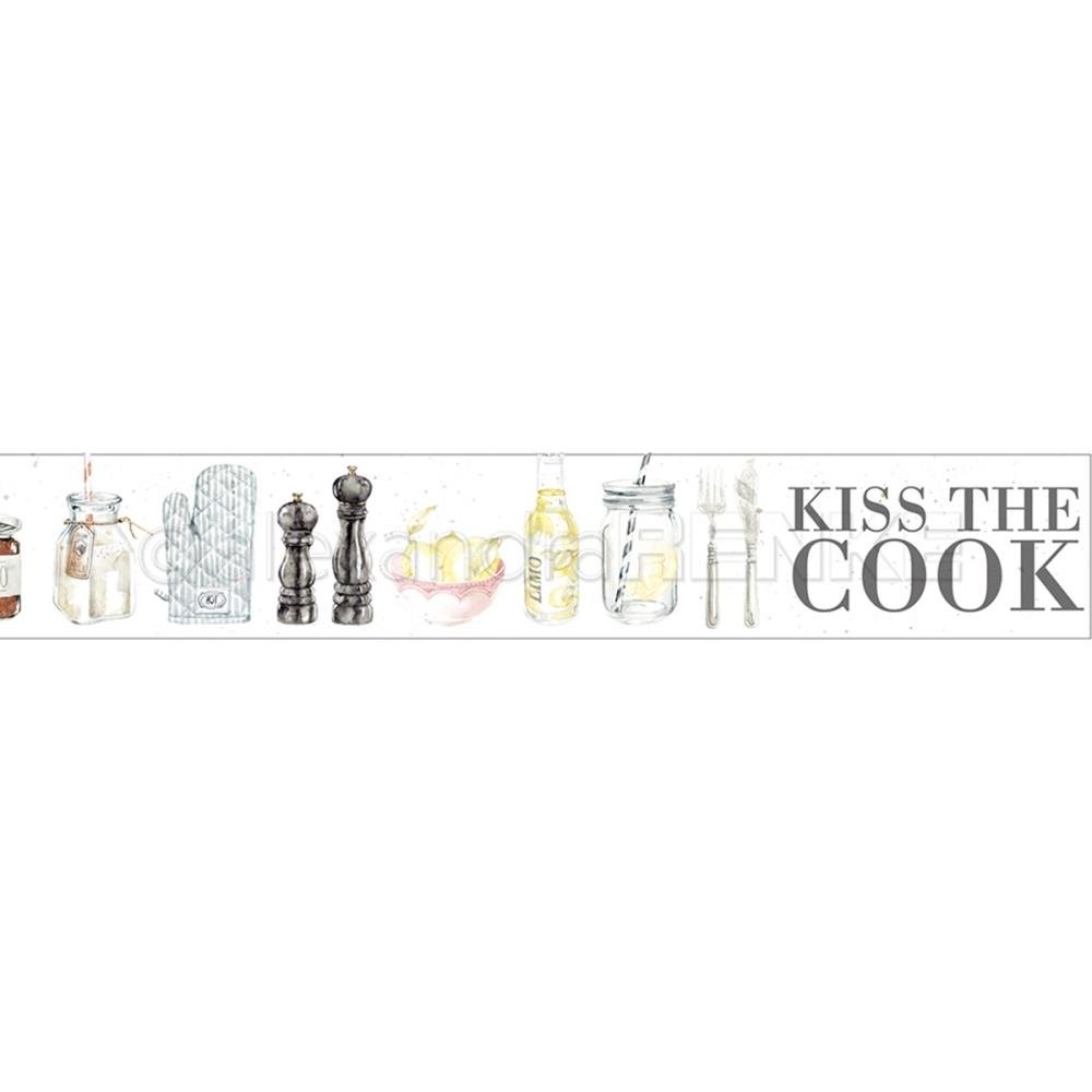 Alexandra Renke Washi Tape 30mmX10m Kiss The Cook, Cooking