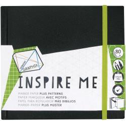 Graphik Inspire Me Sketchbooks 5.5X5.5