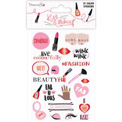 CLEAR     -KISS MAKEUP STICKERS