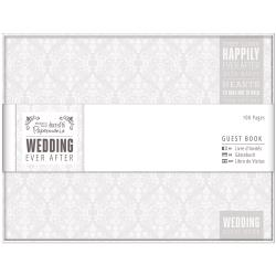 GRAY/WHITE-EVER AFT GUEST BOOK