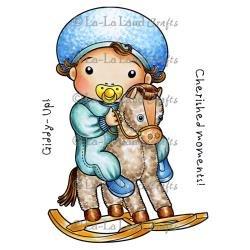 LUKA HORSE-LALA LAND CLING STMP