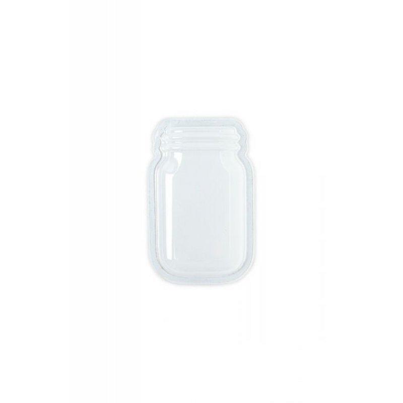 Sizzix Making Essentials Shaker Domes-Jar 3, 6/Pkg