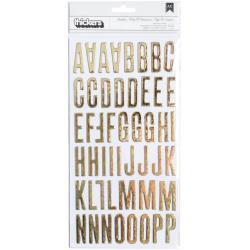 GOLD FOIL -CLEARLY PSH THK STKR