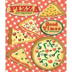 PIZZA     -STICKER MEDLEY