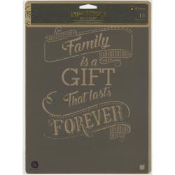 FAMILY GFT-STENCIL 8X10
