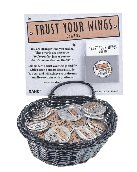 Trust Your Wings Charms