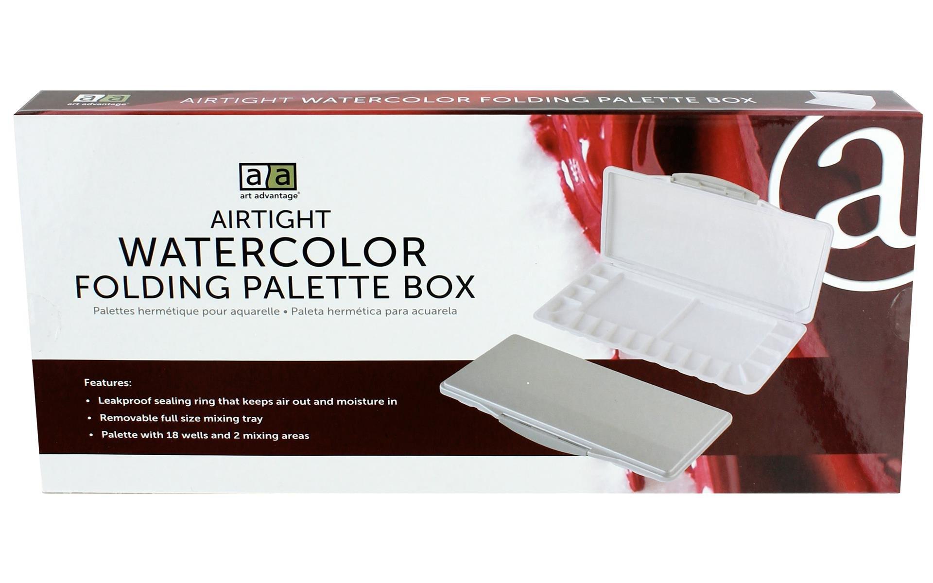 Art Advantage Palette Airtight Watercolor 18 Well