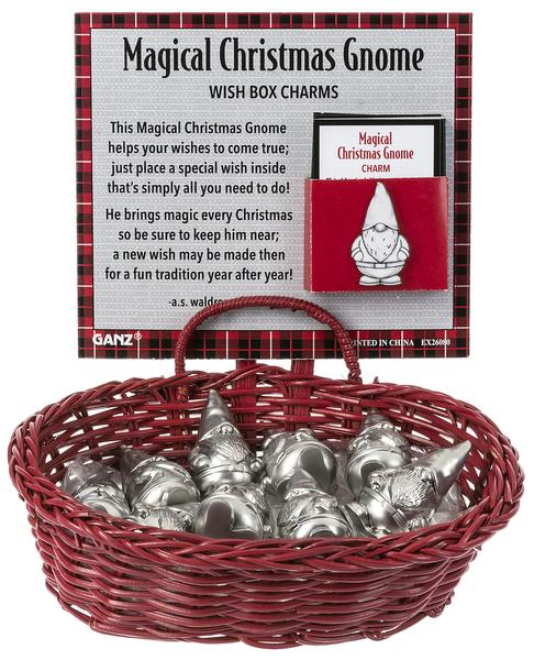 Magical Gnome Wish Box Charms
