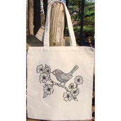 BIRD      -TOTE TO COLOR