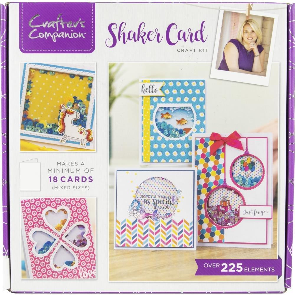 Crafter's Companion Craft Box Kit-Shaker Card
