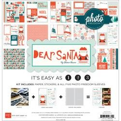 12X12     -DEAR SANTA COLLT KIT -  CLEARANCE - NO FURTHER DISCOUNTS/NO RETURNS
