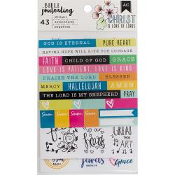 TRENDY    -BIBLE JOURNAL STICKR