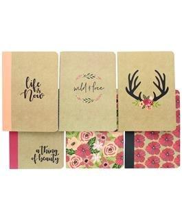 Studio G Stitched Journal Kraft