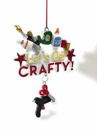 Let's Get Crafty Ornament