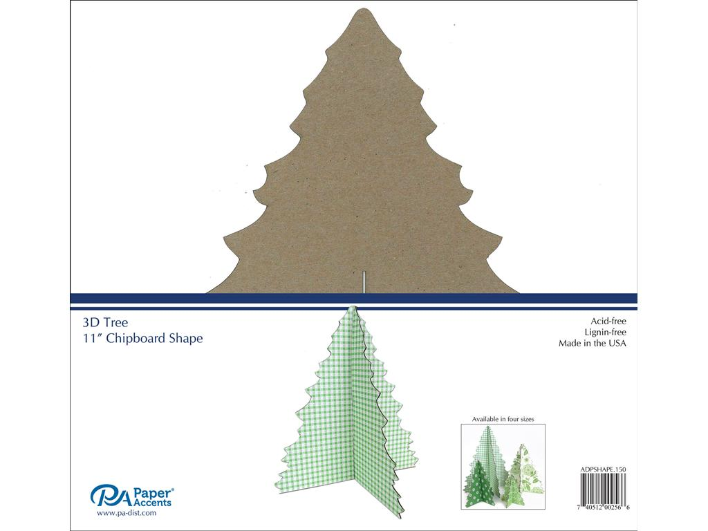 PA 3D TREE CHIPBOARD 11
