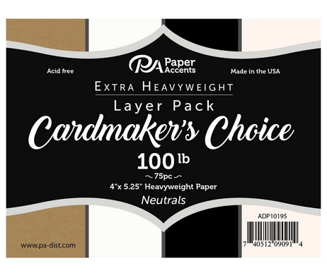 Cardmaker's Choice Layer Pack 4x5.25 75pc