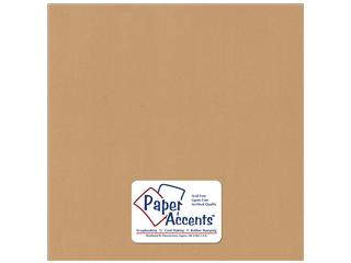 Cardstock 12x12 Dark Kraft Recycled