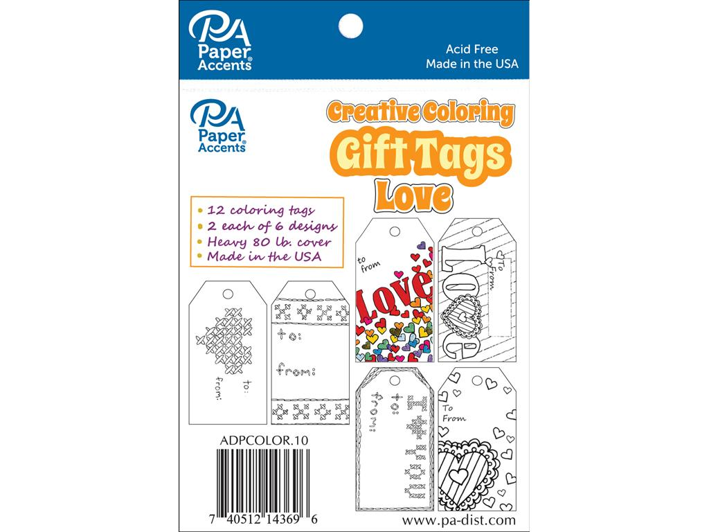 CREATIVE COLORING TAGS