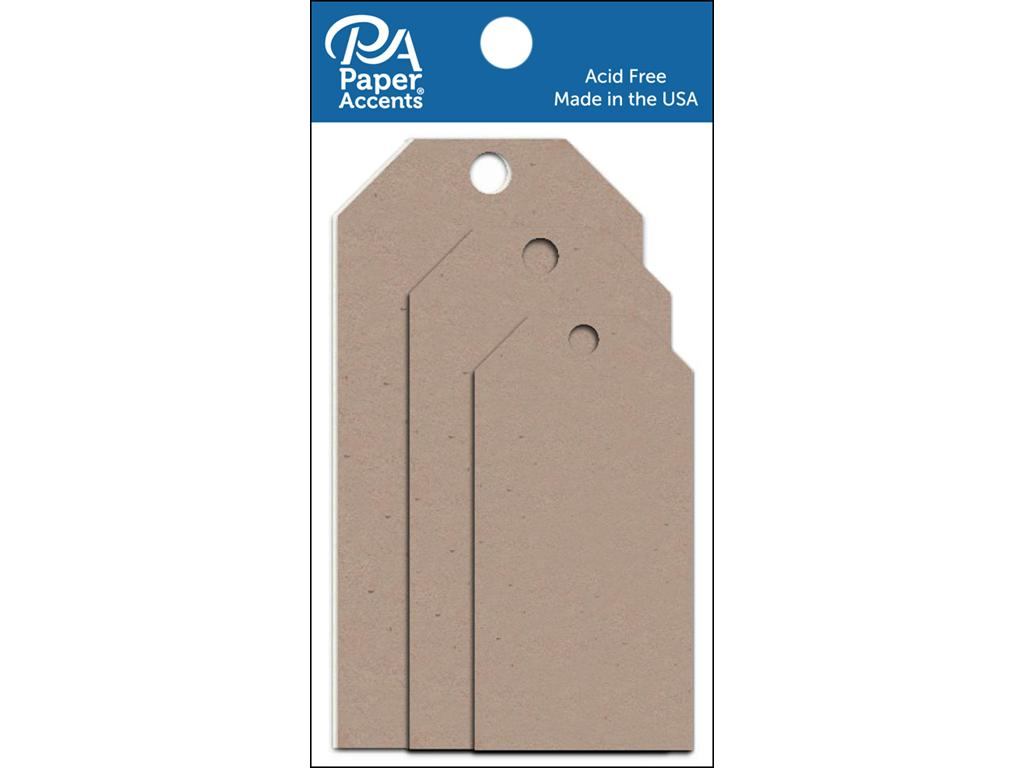 AD Paper Craft Tags Asst