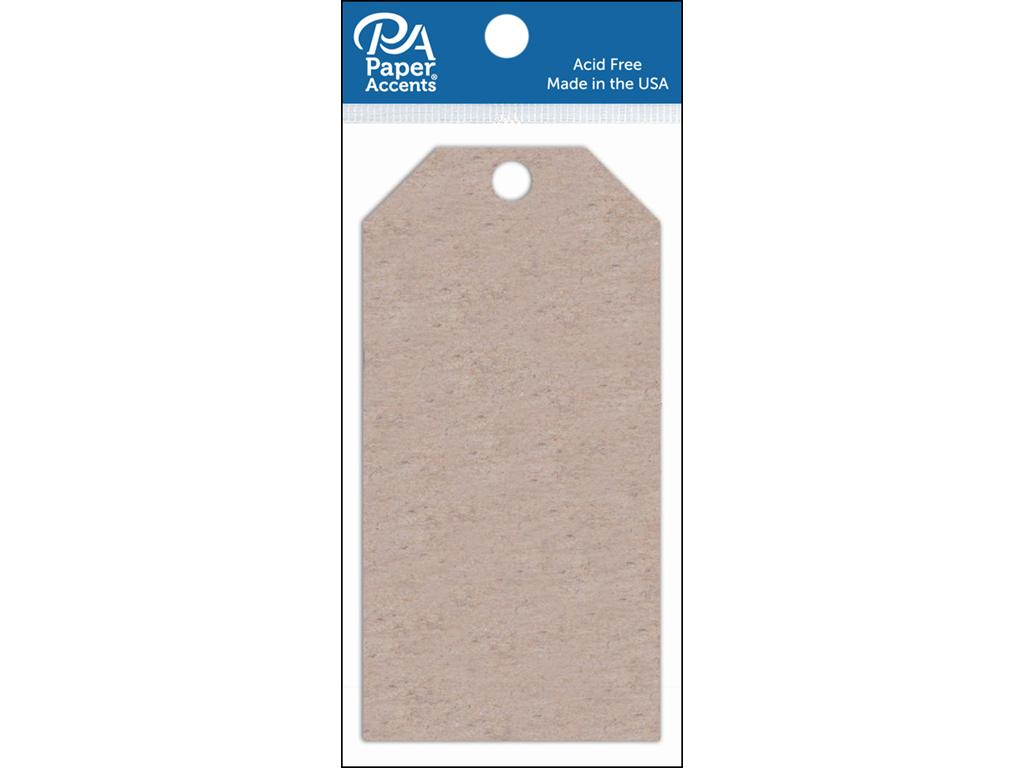AD Paper Craft Tags 2.5x5.25 5pc Chipboard