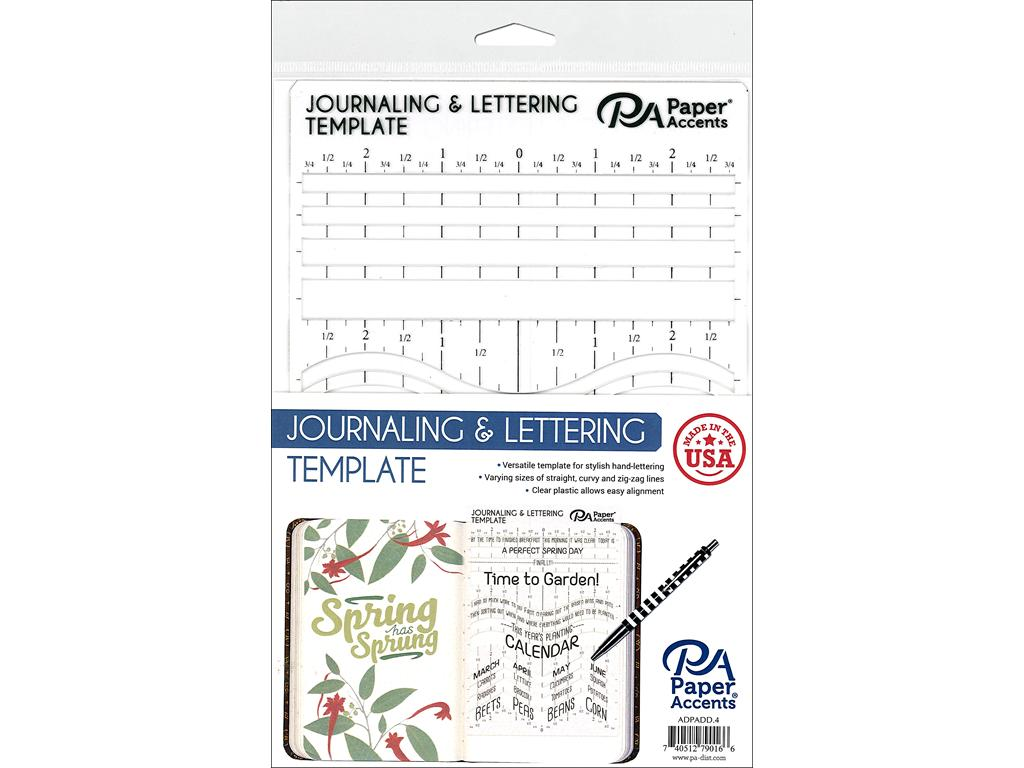PA JOURNALING/LETTERING TEMPLATE