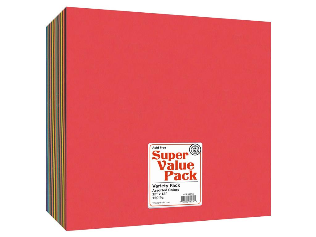 Paper Accents Super Value Variety Pack 12x12 150pc