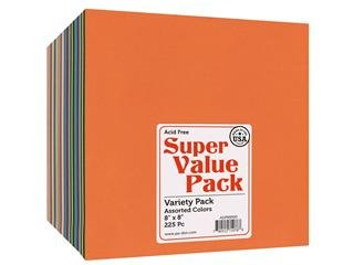 Paper Accents Super Value Variety Pack 8x8 225pc