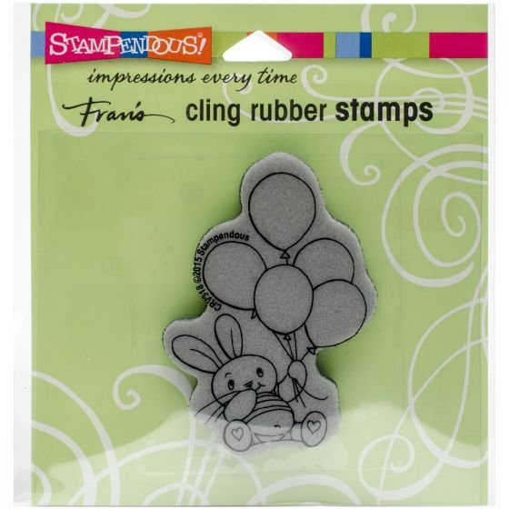 BALLOON BN-CLING RUBBER STAMP