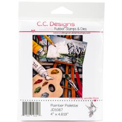 PALETTE   -DOVEART CLING STAMP