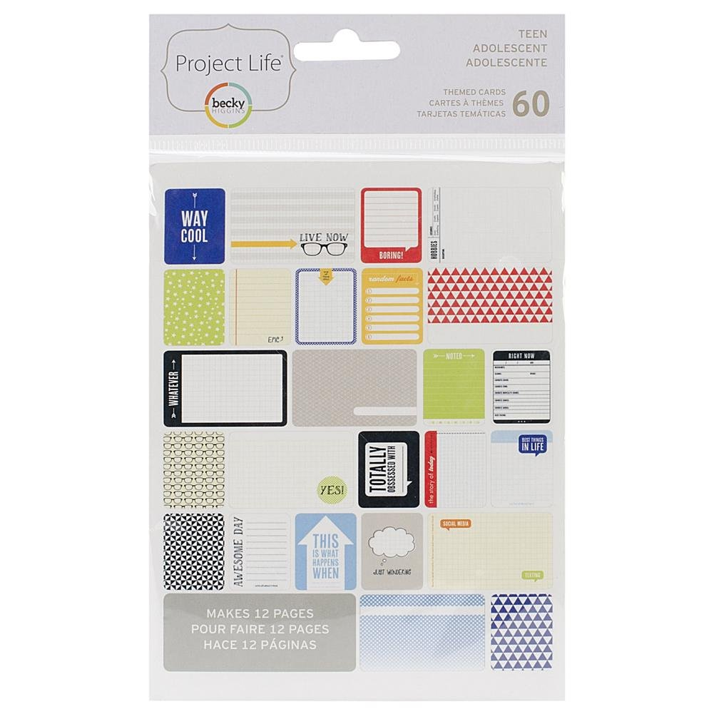 TEEN BOY  -PROJECT L CARDS 60PK