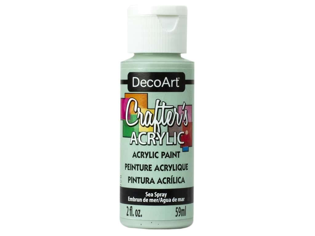 Crafter's Acrylic All-Purpose Paint 2oz-Sea Spray
