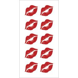 LIPS 2    -STICKY PIX STICKER 2X8