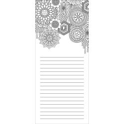 GLAM      -COLORING NOTEPAD 4X9