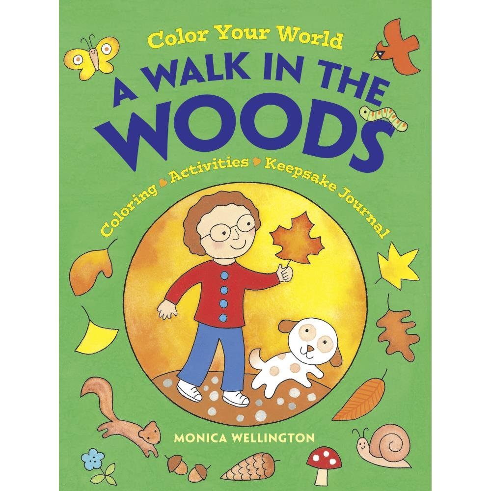 Dover Publications-Walk In The Woods