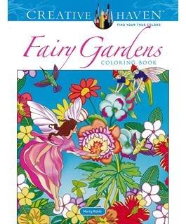 Dover Publications Creative Haven Fairy Garden Coloring Book