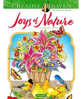 Dover Publications Creative Haven Joys Of Nature Coloring Book